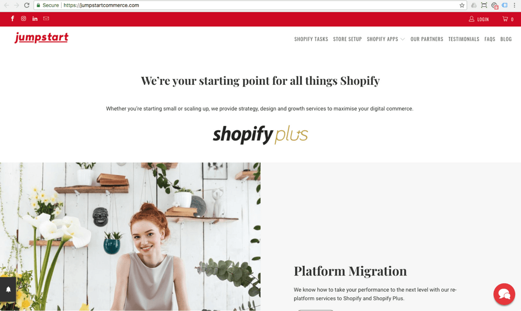 jumpstart shopify singapore expert