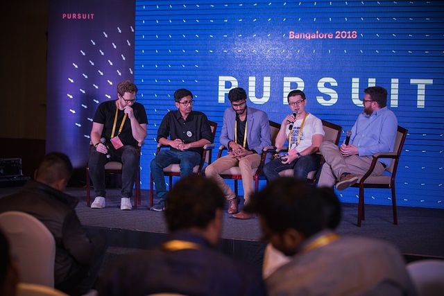 shopify pursuit bangalore india. tony speaking with partners