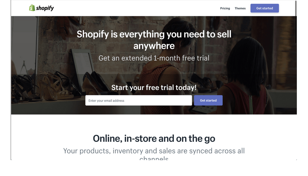 shopify free trial exclusive deal