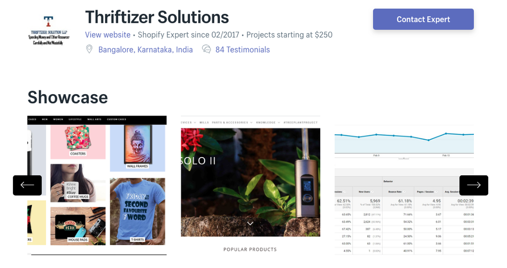 shopify india thriftizer