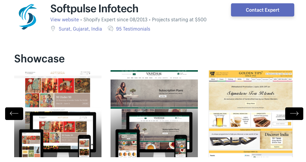 shopify india softpulse