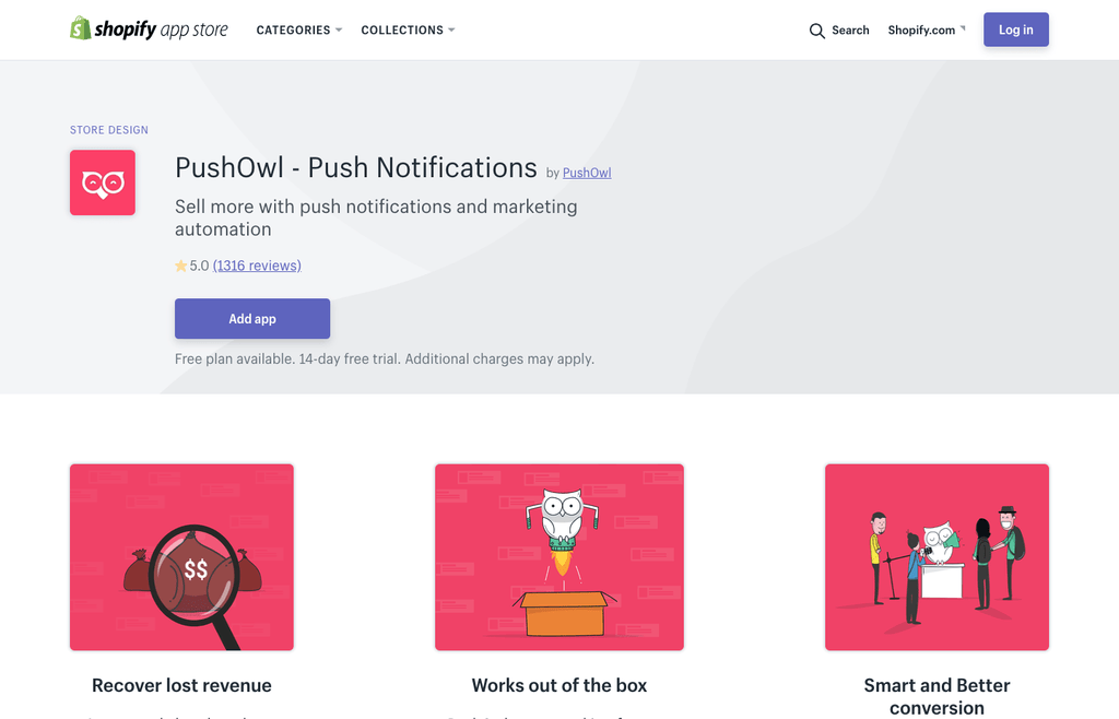 pushowl shopify app