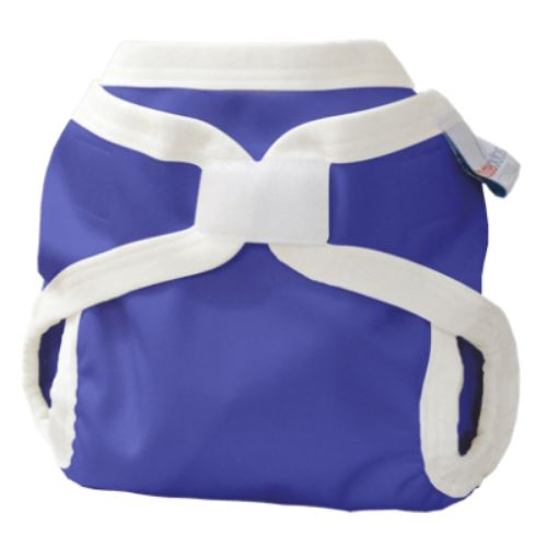 Bubblebubs PUL double gusset cover Blue Moon