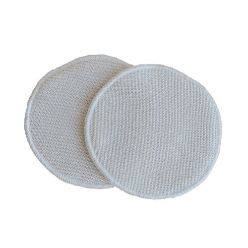 Disana Raw Silk Nursing Pads