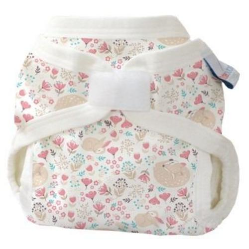 Bubblebubs PUL double gusset cover My Deer