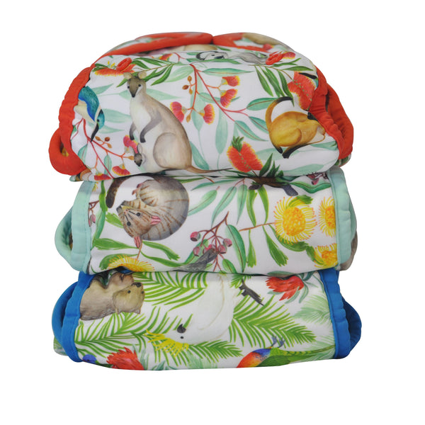 Seedling Multi-fit modern cloth nappies