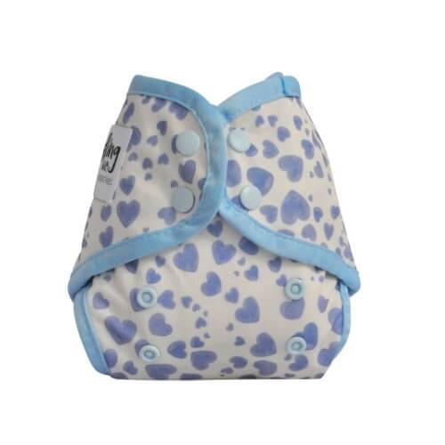 Seedling Baby Mini-Fit-Blue Hearts