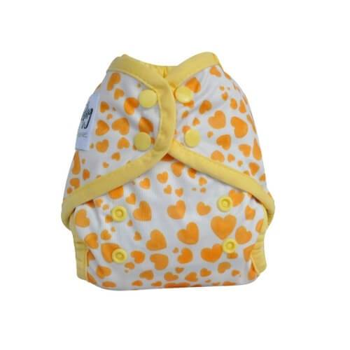 Seedling Baby Mini-Fit Yellow Hearts
