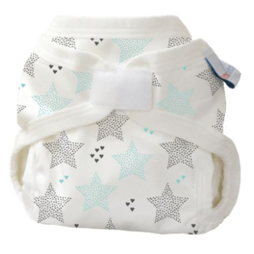 Bubblebubs PUL double gusset cover twinkle