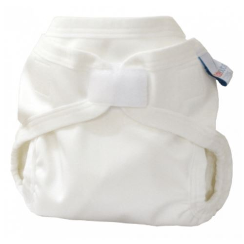Bubblebubs PUL double gusset cover white