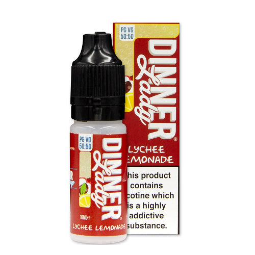 Dinner Lady Lychee Lemonade 50-50 E-liquid (10ml) - Best4ecigs Vape