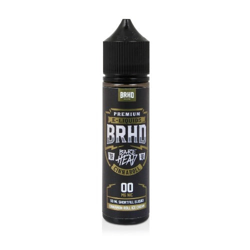 Cinnaroll - Short Fill E-liquid by Barehead (50ml) + FREE Nic Shot