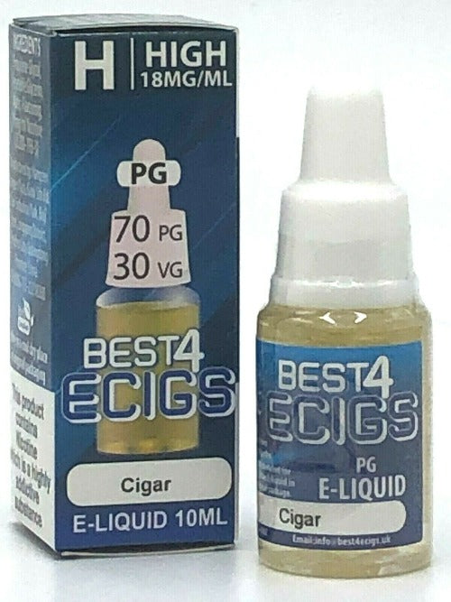Cigar - High PG E-Liquid by Best4ecigs (10ml) - Best4ecigs