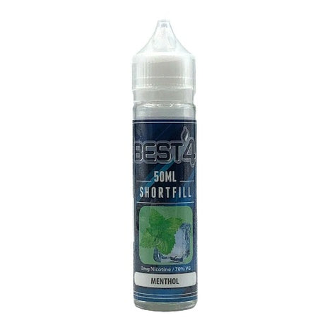 Menthol - Short Fill E-liquid by Best4ecigs (50ml) + FREE Nic Shot - Best4ecigs Vape