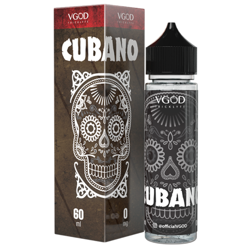 Cubano - Short Fill E-liquid by VGOD (50ml) + FREE Nic Shot