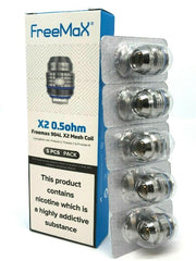 FreeMax 904L X1 / X2 / X3 Mesh Coils (5 Pack) - For Fireluke, Twister & Maxus