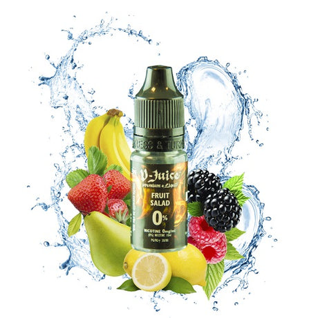Fruit Salad E-liquid by V-Juice (10ml) - Best4ecigs Vape