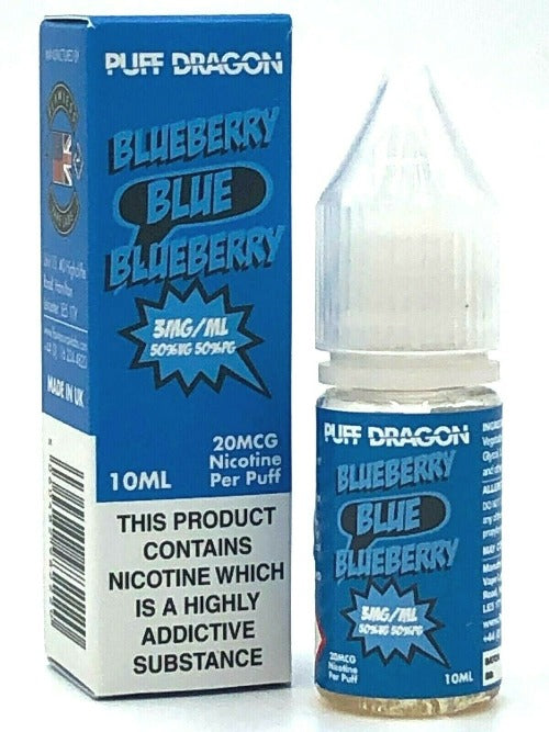 Puff Dragon Blueberry Blue E-liquid (10ml)