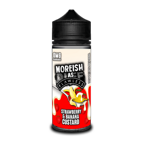 Strawberry Banana Custard Short Fill by Moreish Puff (100ml)