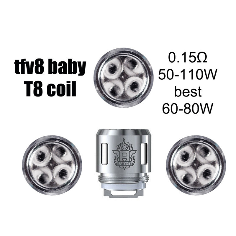 Smok TFV8 Baby Coils T8 0.15 (5 Pack)