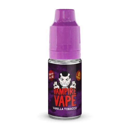 Vanilla Tobacco E-liquid by Vampire Vape (10ml)