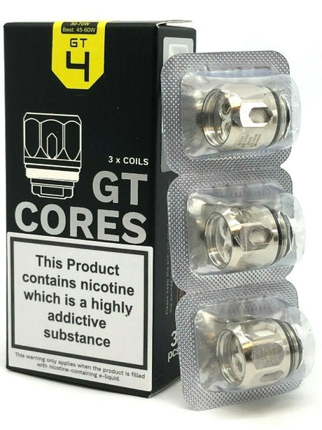 Vaporesso GT4 Core Coils (3 Pack) - NRG - Best4ecigs Vape