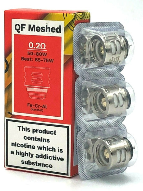 Vaporesso QF Strip / Meshed Replacement Coils (3 Pack) SKRR