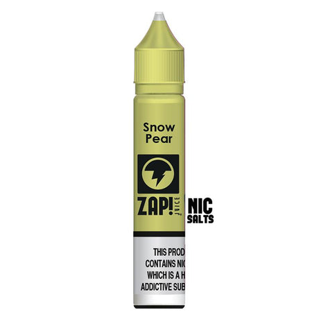Snow Pear Nic Salt by Zap (10ml) - Best4ecigs Vape
