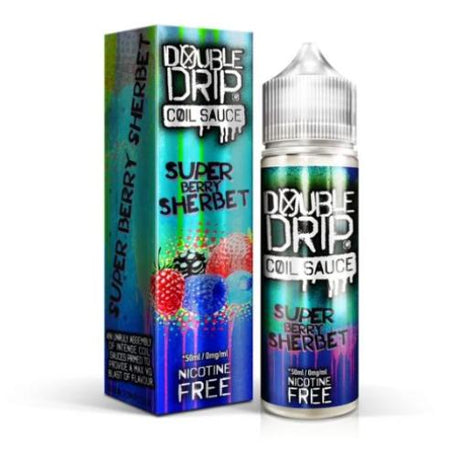 Double Drip Super Berry Sherbet Short Fill (50ml) - Best4ecigs Vape