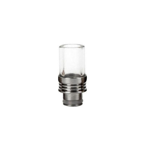 SALE - 510 Pyrex & Stainless Steel Drip Tip DG062 - Best4ecigs Vape
