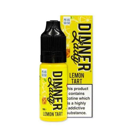 Lemon Tart E-liquid by Dinner Lady (10ml) - Best4ecigs Vape