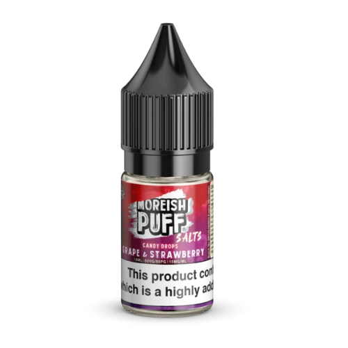 Grape & Strawberry Candy Drops Nic Salt by Moreish Puff (10ml) - Best4ecigs Vape