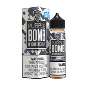 Purple Bomb Iced - Short Fill E-liquid by VGOD (50ml) + FREE Nic Shot
