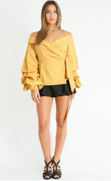 Bardot Wrap Around Shirt