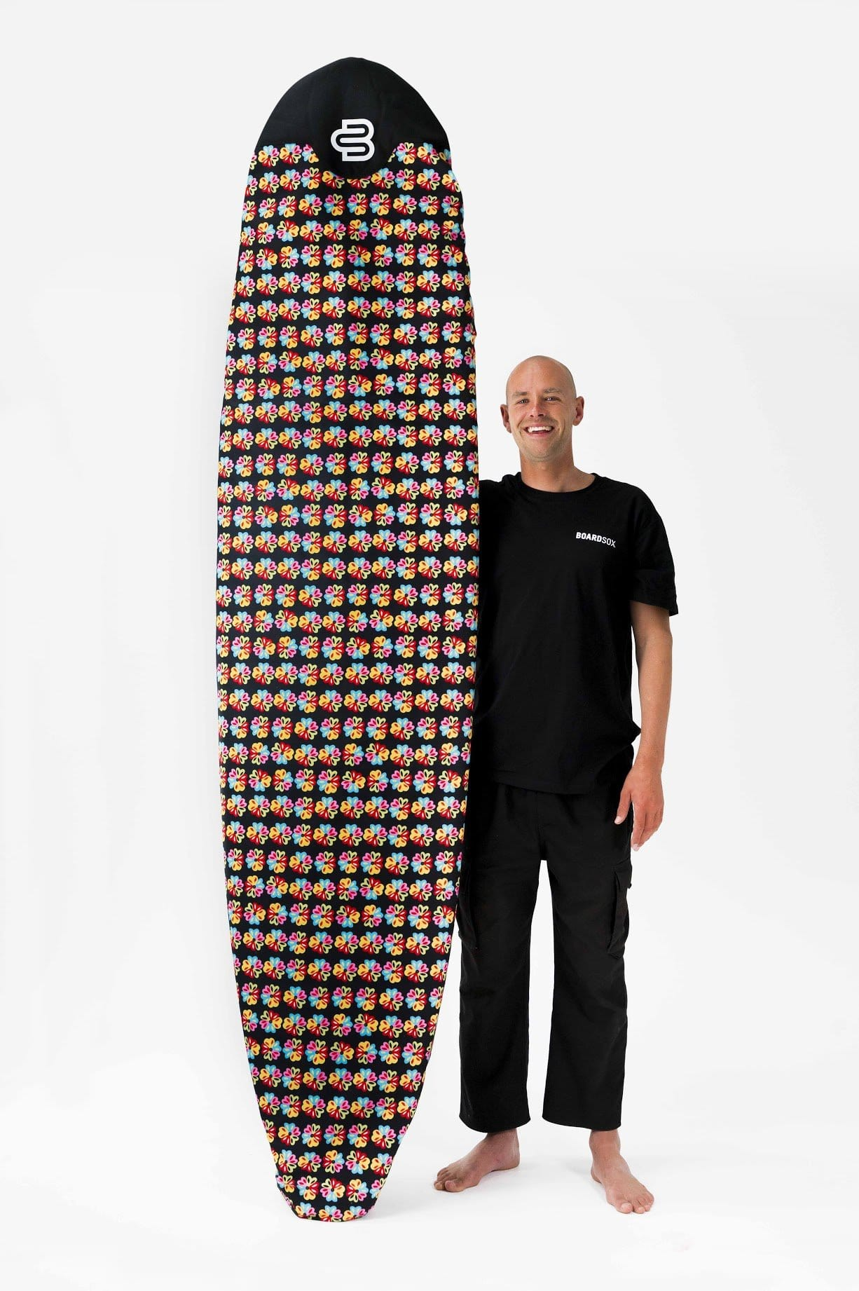 NEW!! Ozzie Alien Love Flower Boardsox®  Long Surfboard Cover