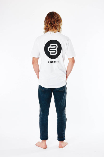 Boardsox® Mens White T-Shirt