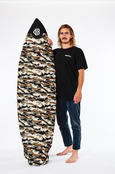 Camo Boardsox® Short Surfboard Cover with FREE Shipping