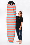 The Wingnut Stripes Boardsox® Long Surfboard Sock