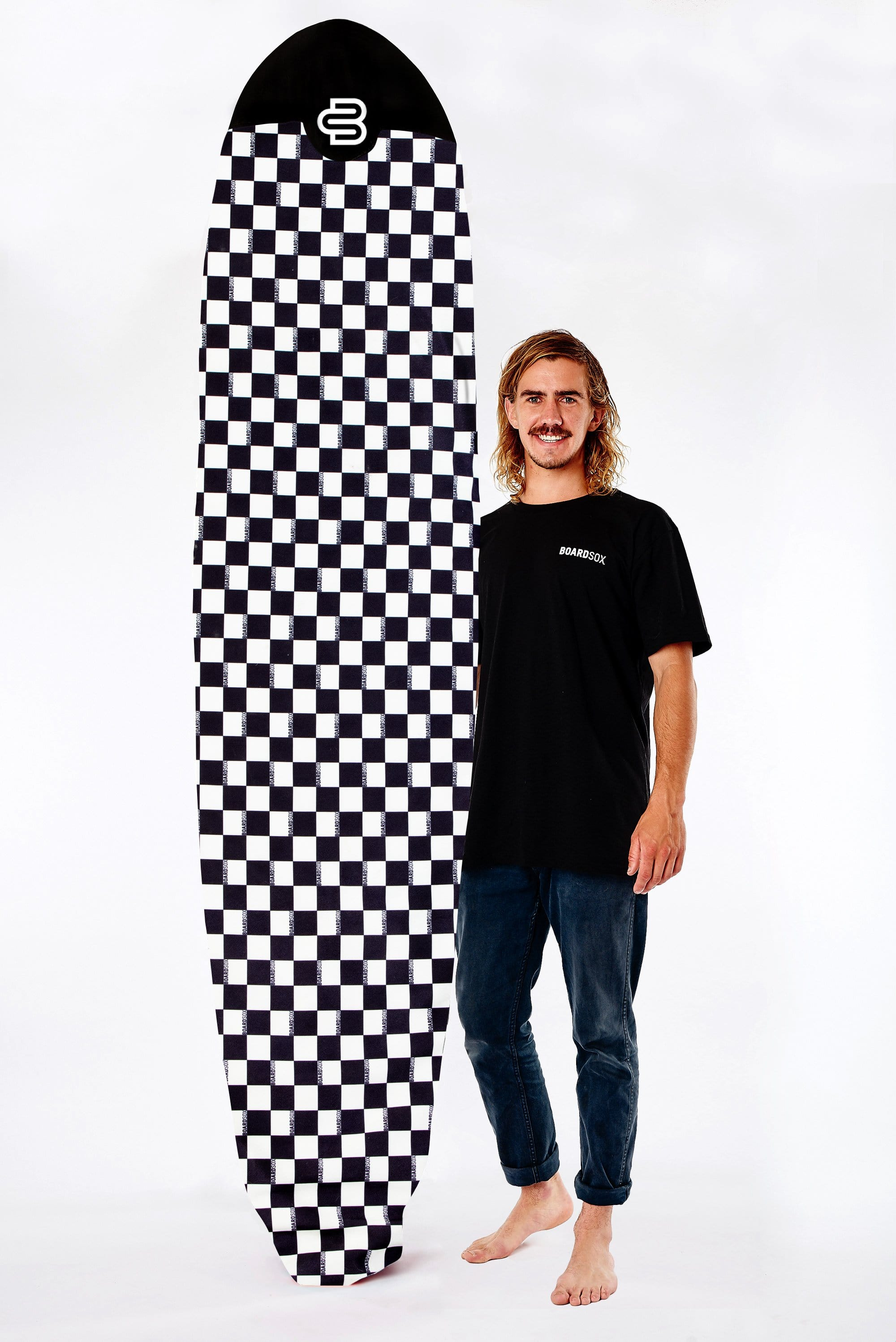New! Checks Boardsox® Long Surfboard Cover