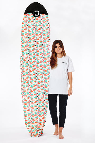 New! Flamingo Boardsox® Long Surfboard Cover