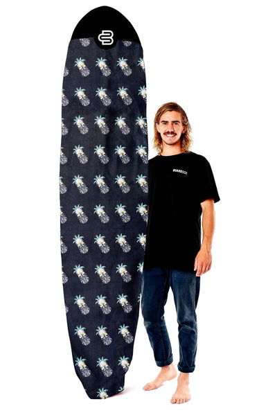 The Pineapple Head Boardsox®  Long Surfboard Cover