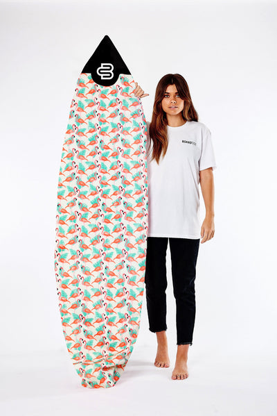 NEW!! Flamingo Boardsox® Short Surfboard Cover