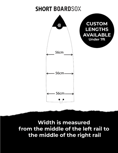 The Worm Boardsox® Short Surfboard Cover