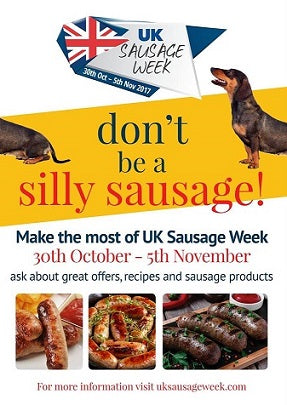 We're celebrating UK Sausage Week with 15% off!