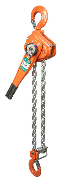 TIGER PROFESSIONAL LEVER HOIST TYPE PROLH, 1.5t CAPACITY (210-12) - Hoistshop