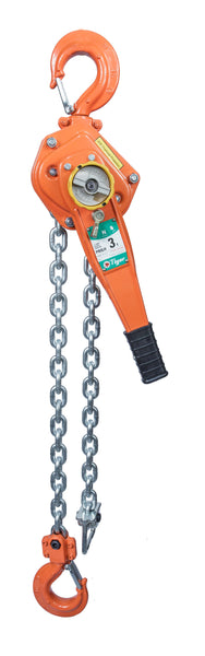 TIGER PROFESSIONAL LEVER HOIST TYPE PROLH, 3.0t CAPACITY with LOAD LIMITER Ref: 210-29 - Hoistshop