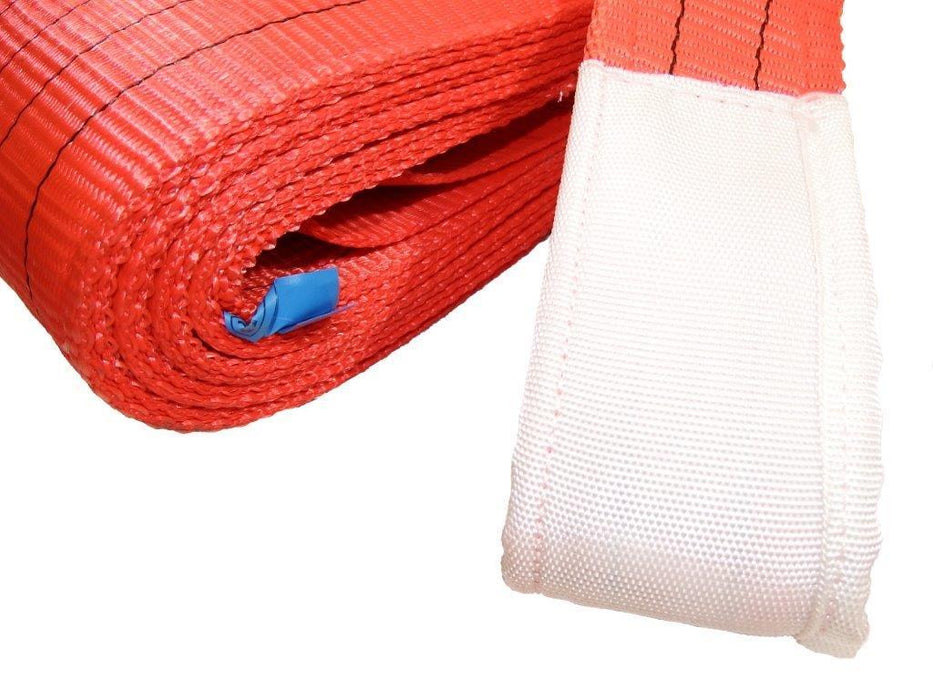 5000kg Duplex Red flat webbing slings Ref: 283-5 - Hoistshop
