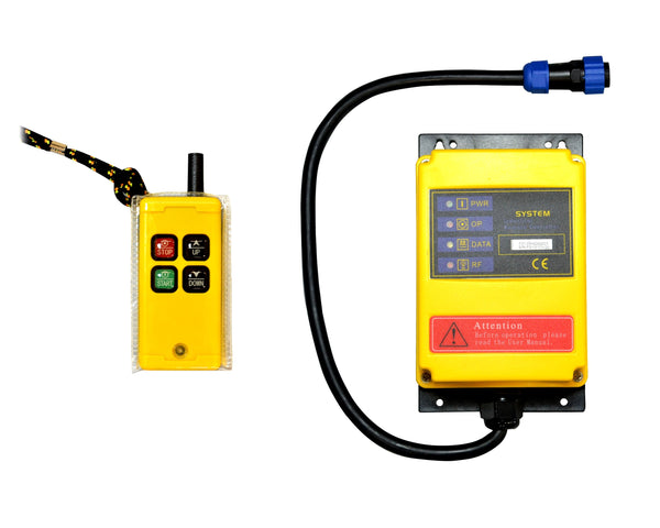240v Scaffold Hoist Wireless Remote control System Ref:161-3-2 - Hoistshop
