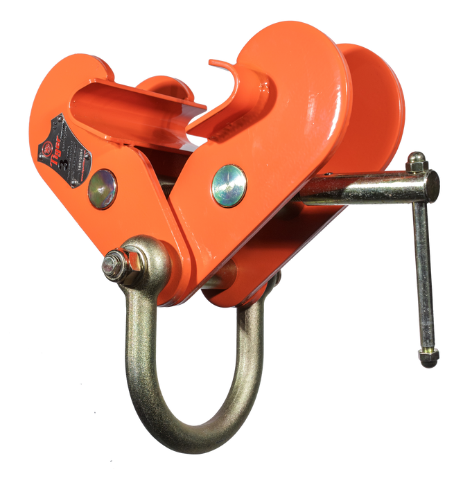 TIGER FIXED JAW BEAM CLAMP WITH SHACKLE BCF Ref: 214-2 - Hoistshop