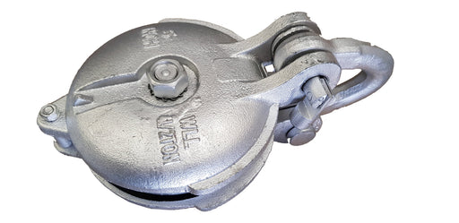 Galvanised Forestry Yarding Pulley - Hoistshop